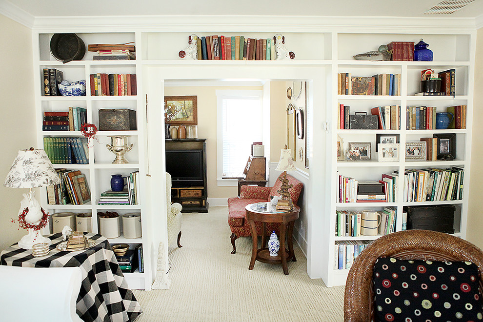 Living Room Library Bookcase | Gopelling.net