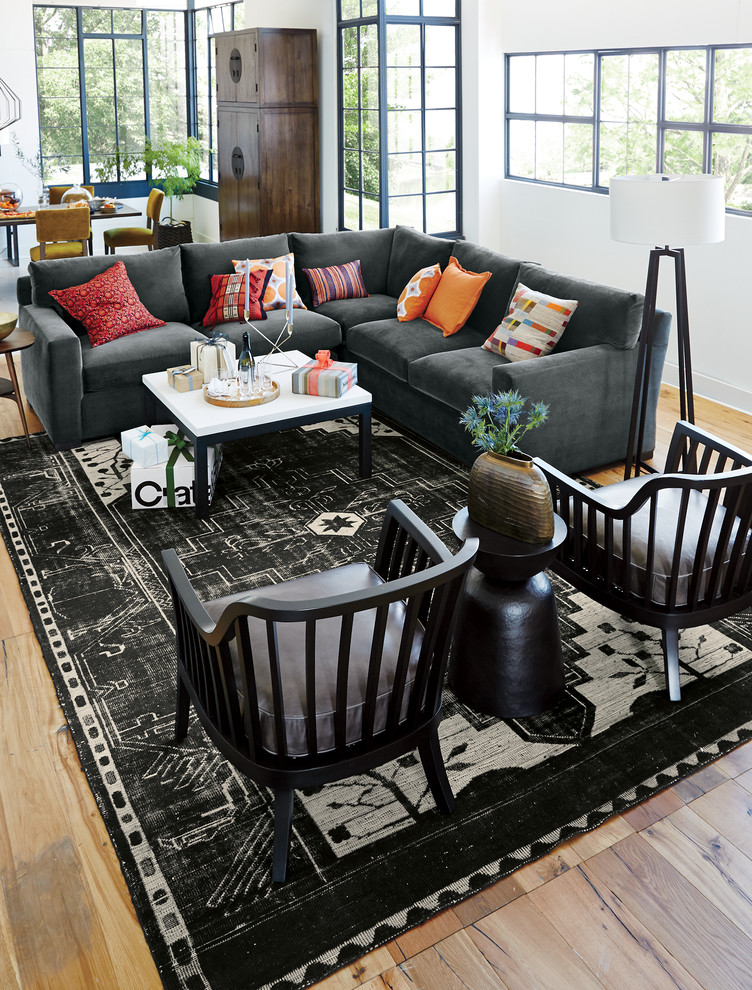8x10 rug Living Room Eclectic with CategoryLiving RoomStyleEclecticLocationOther Metro