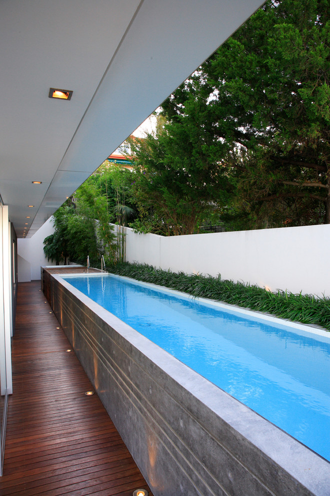 Above Ground Pools for Sale Pool Modern with Above Ground Pool Bamboo Border Plantings Ceiling Lighting Concrete Deck Floor Lighting