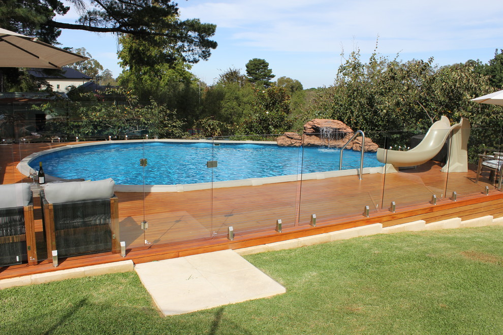 Above Ground Pools for Sale Pool with Award Winning Pool Beautiful Pools Decking Glass Fencing Spasa Sa Water Feature