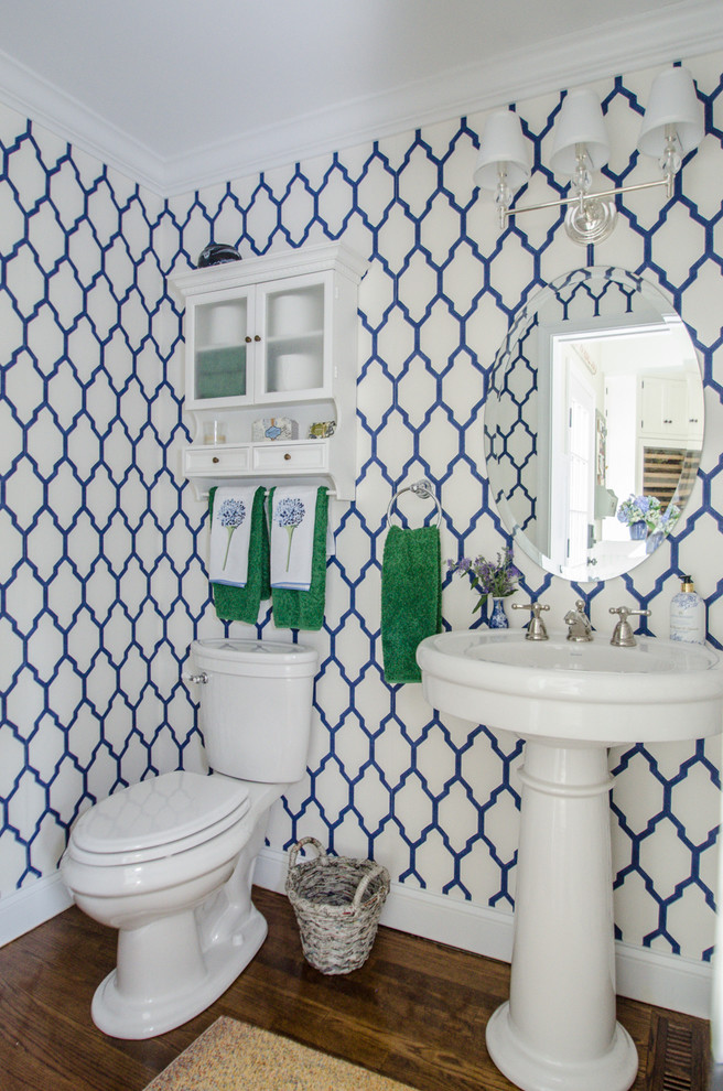 Above Toilet Cabinet Powder Room Traditional with Above Toilet Cabinet Blue and Green Blue and White Farrow and Ball