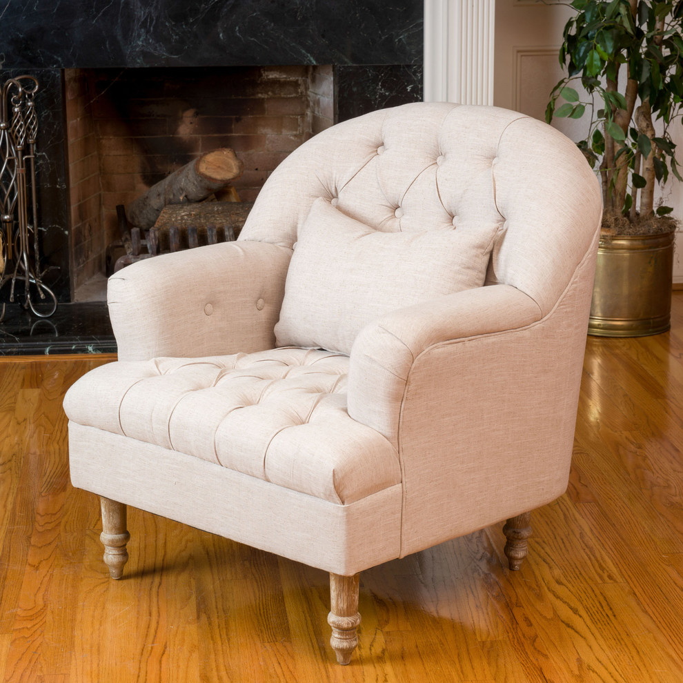 Accent Arm Chair Living Room Traditional with Accent Arm Chair Bedroom Beige Country Fabric Chair Living Room Traditional Chair