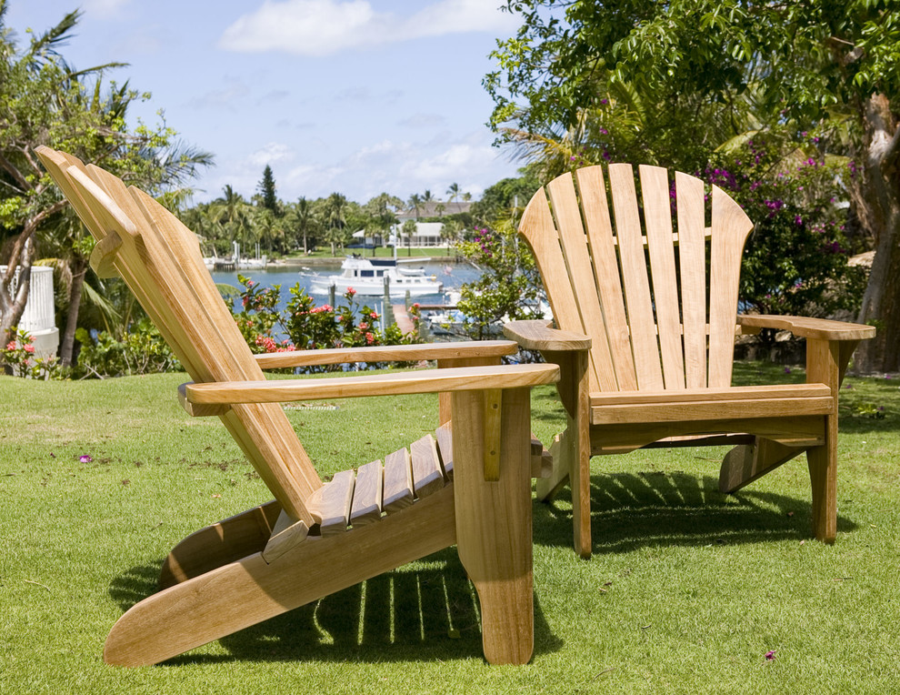 Adirondack Chair Spaces Traditional with Adirondack Adirondack Chairs Adirondack Furniture Outdoor Furniture Patio Chairs Teak Teak Adirondack