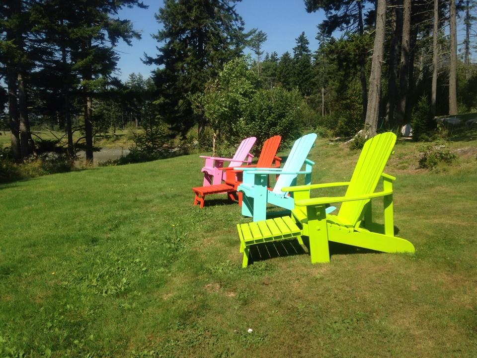 Adirondack Rocking Chair Spaces Tropical with Adirondack Chairs Adirondack Furniture Adirondack Rocker Adirondack Rocking Chair Fun Colors Lawn