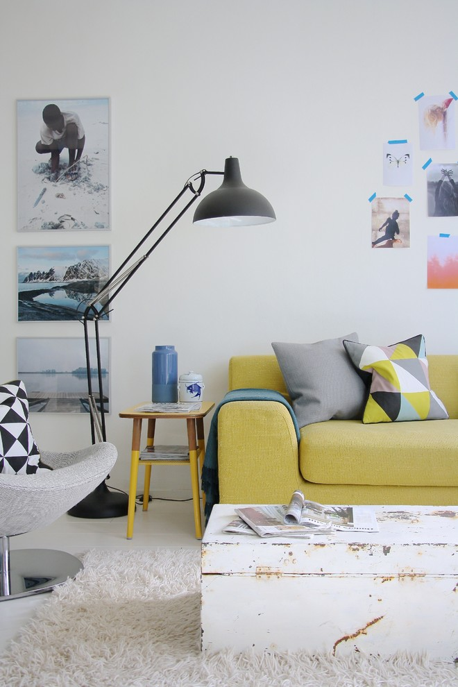 Adjustable Floor Lamp Living Room Scandinavian with None