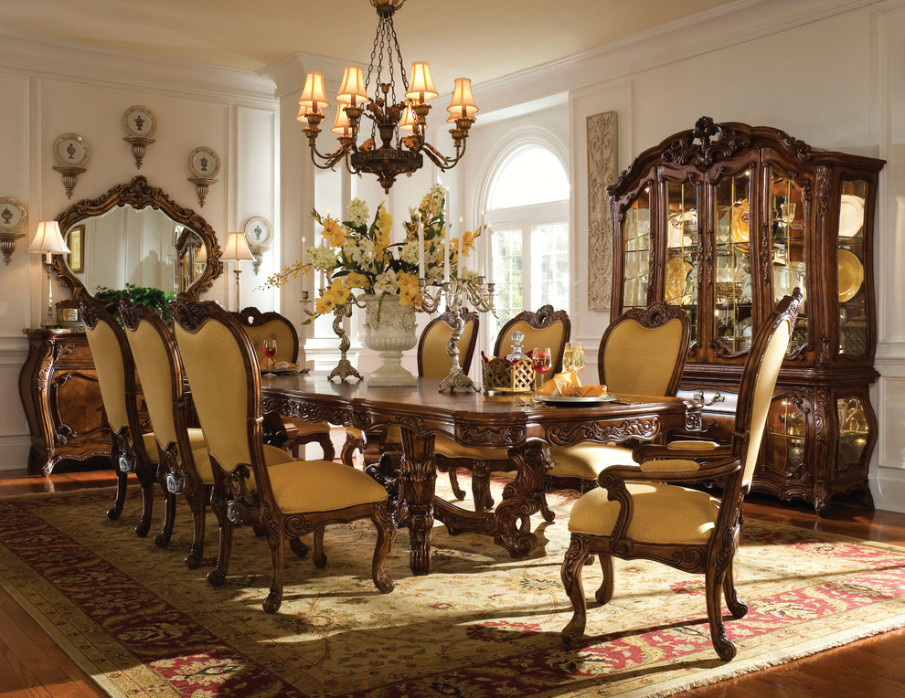 Aico Spaces Traditional with Aico Palais Royale Collection Palais Royale Dining Room Set