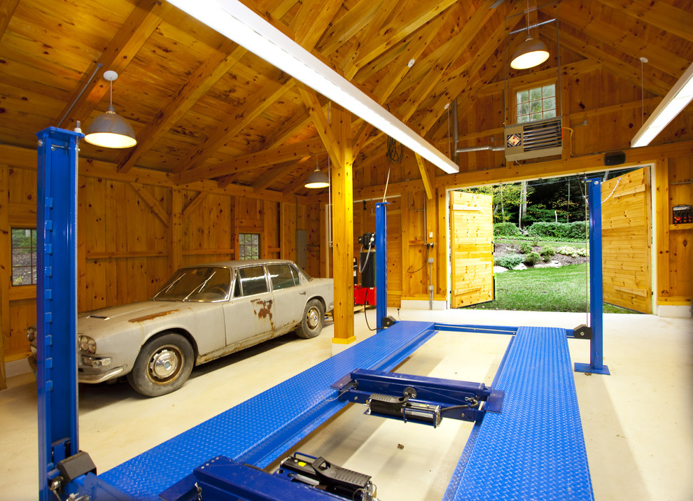 aladdin-light-lift-garage-and-shed-contemporary-with-barn-carriage