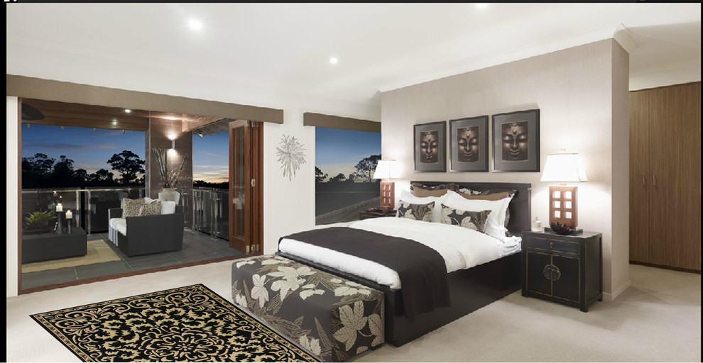 Alliyah Rugs Bedroom Contemporary with None