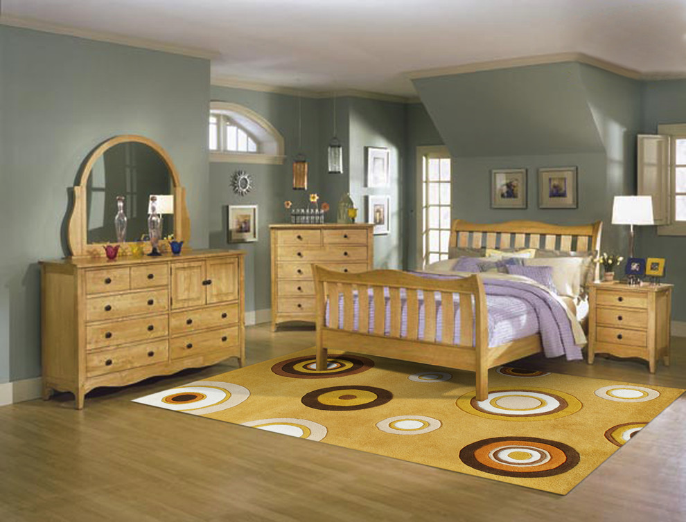Alliyah Rugs Bedroom Contemporary with None 1