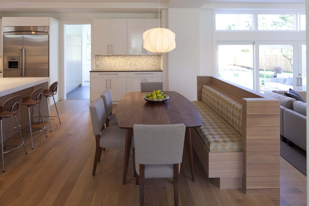 Altra Furniture Kitchen Contemporary with Banquette Built Ins Eat in Kitchen Farmhouse Table Great Room Kitchen Table