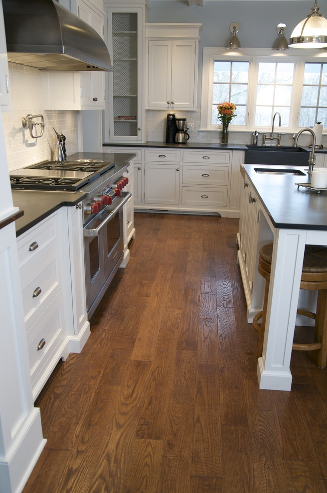 Anderson Hardwood Kitchen Traditional with None