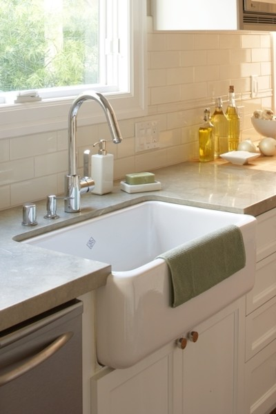 Apron Front Sink Kitchen Traditional with Farmhouse Kitchen Neutral Sink
