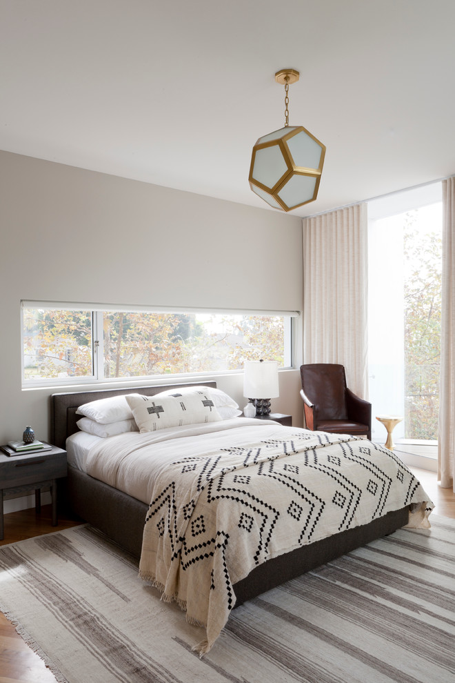 Arteriors Lighting Bedroom Modern with Bedroom Brass Light Custom Headboard Disc Interiors Drapery Geometric Pendant Grass Cloth