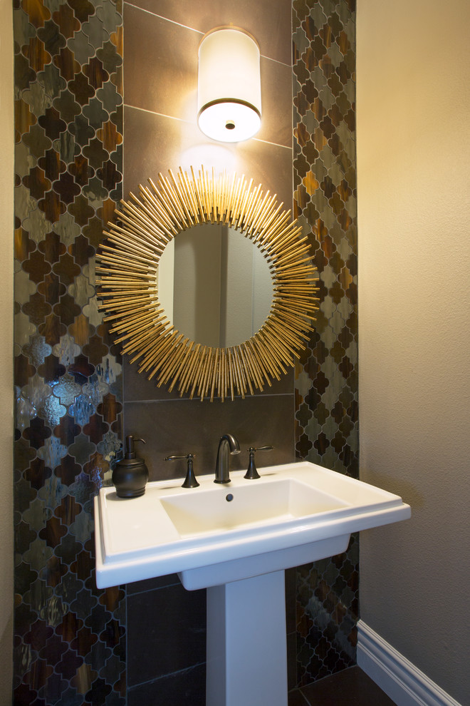 arteriors lighting Powder Room Eclectic with My Houzz