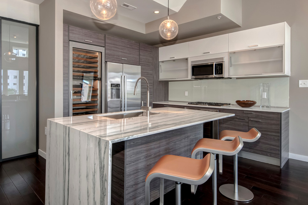 Backless Bar Stools Kitchen Contemporary with Contemporary Kitchen Contemporary Wine Storage Grey Kitchen Modern Kitchen Porcelanosa Kitchen Sleek