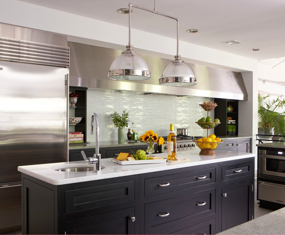Backsplash for Kitchens Kitchen Beach with Black Cabinets Black Kitchen Cabinets Cheese Tray Custom Hood Fruit Gray Counter
