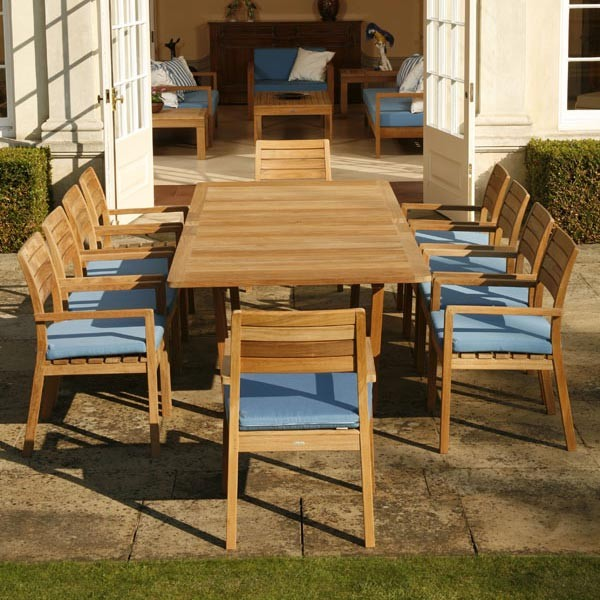 Barlow Tyrie Landscape Contemporary with Authenteak Barlow Tyrie Barlow Tyrie Horizon Stacking Teak Dining Armchair Barlow Tyrie