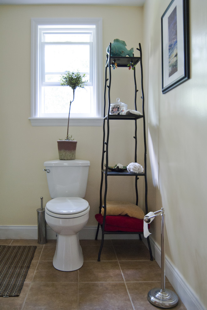Bathroom Etagere Bathroom Traditional with None