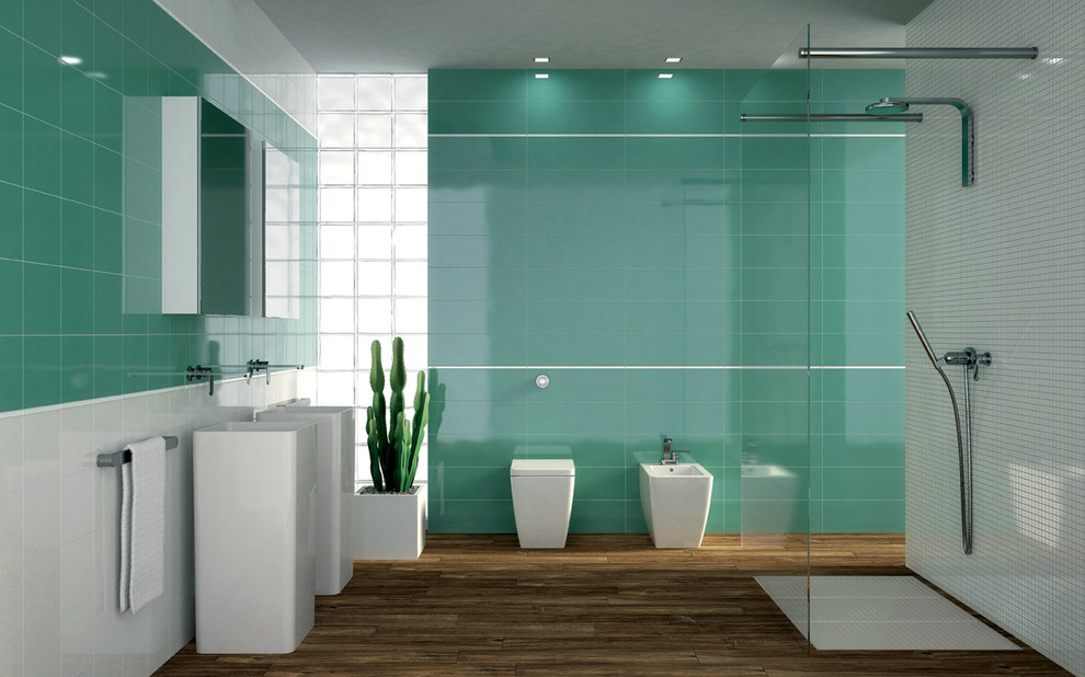 Bathtubs for Sale Bathroom Contemporary with Ceramic Tile Colorful Tile Glittery Tile Glossy Wall Tile Green Looks Like