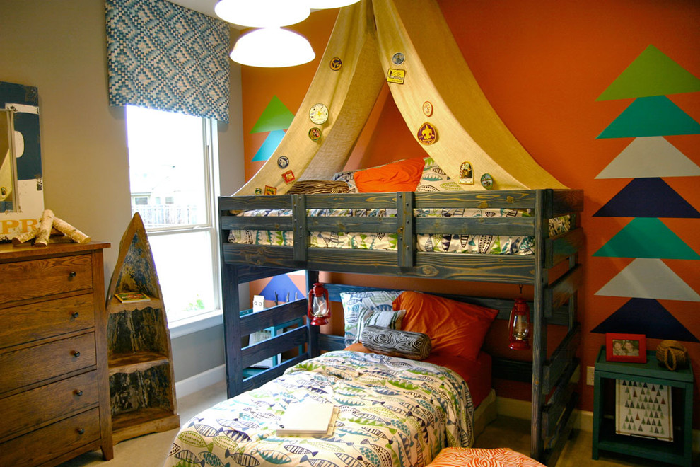 Beach Canopy Tent Kids Traditional with Accent Wall Boathouse Bold Boy Scouts Boys Bedding Boys Bedroom Boys Room