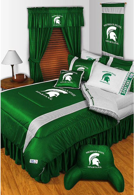 Bed Comforter Sets Bedroom Modern with Michigan State Bedding Michigan State Comforter Michigan State Sheets Michigan State Spartans