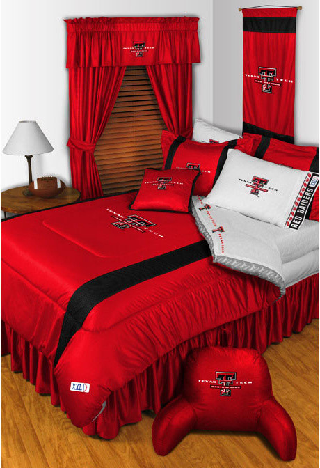 Bed Comforter Sets Bedroom Modern with Ncaa Red Raiders Bathroom Ncaa Texas Tech Bedroom Red Raiders Bedroom Red