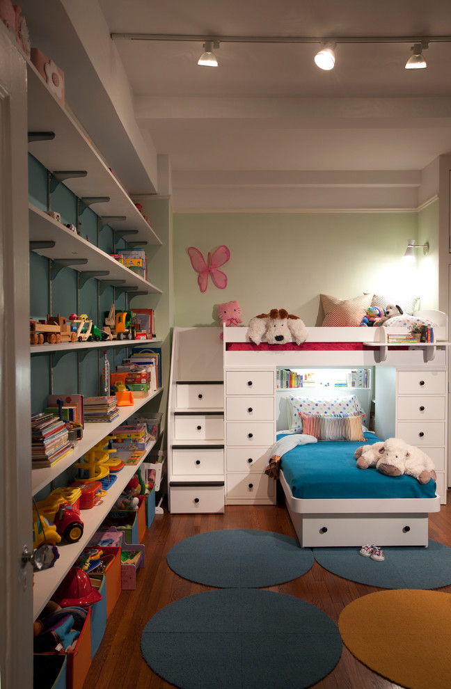 berg furniture Kids Traditional with Boy's Room bunk bed colorful custom closets girl's room kids room loft