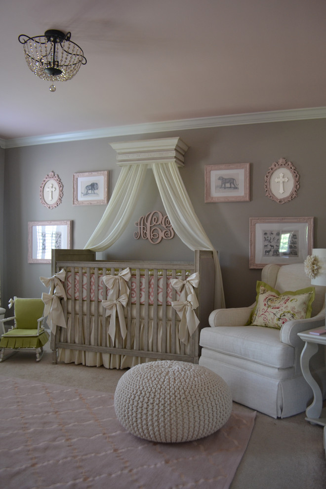 Best Nursery Glider Nursery Traditional with Baby Bedding Beige Glider Bows Butterfly Pleat Canopy in Nursery Carpet Changing