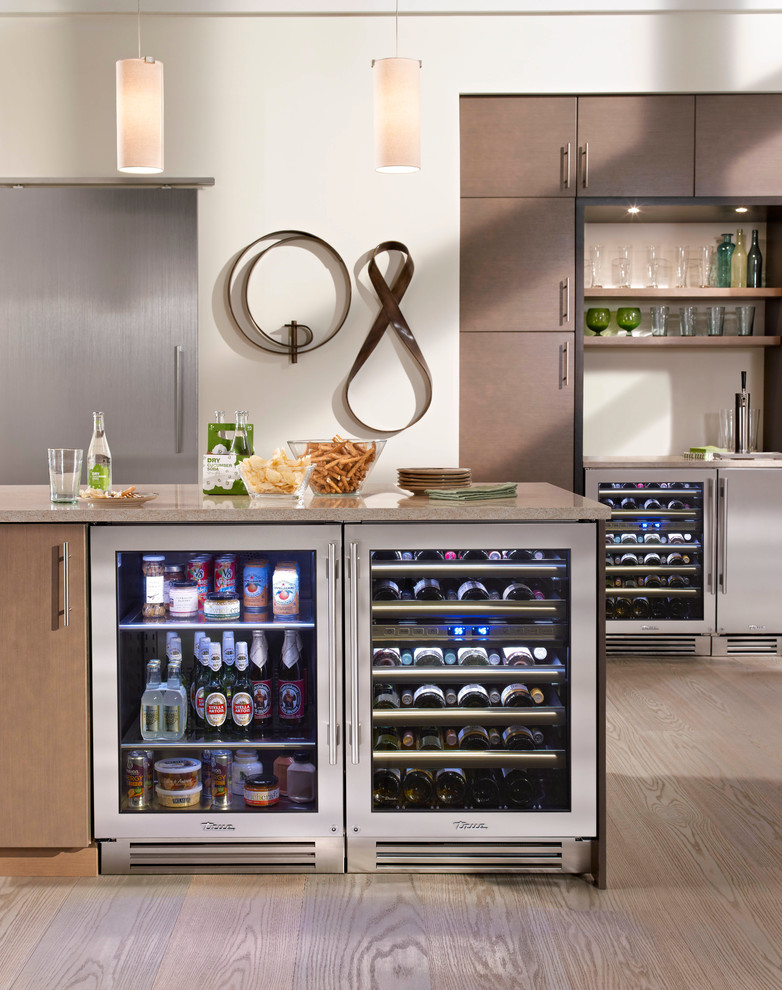 beverage dispensers Kitchen Contemporary with none