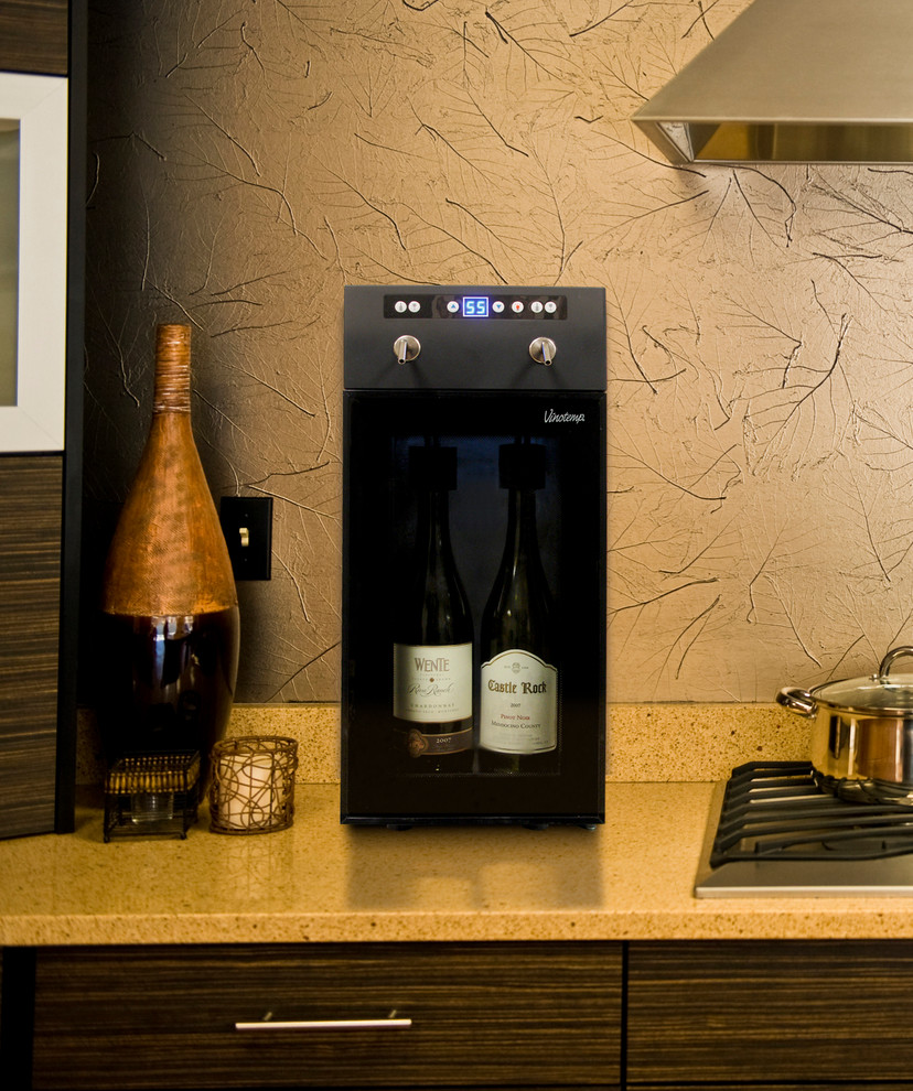 beverage dispensers Spaces Contemporary with beverage dispenser dispenser wine chiller wine cooler wine dispenser wine refrigerator