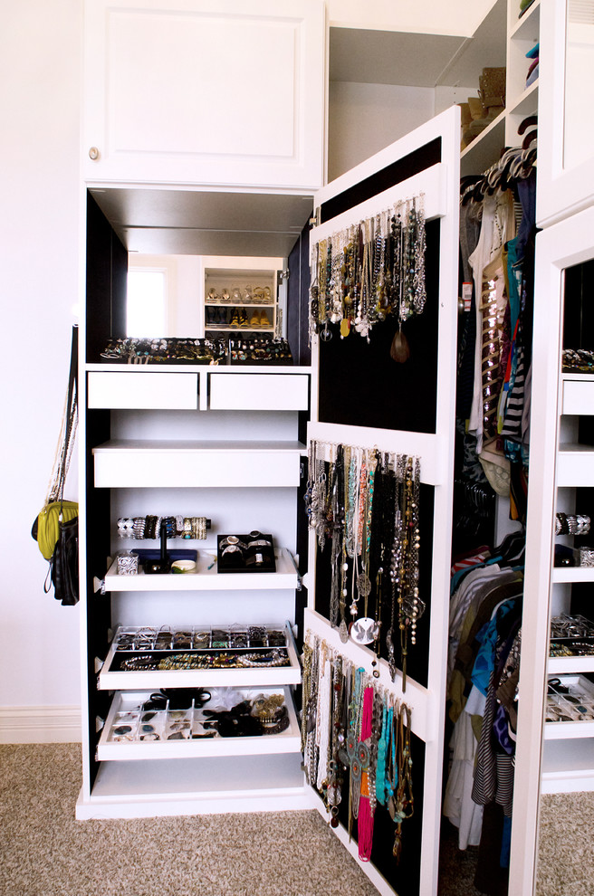 Black Jewelry Armoire Closet Traditional with Bracelet Holder Cabinet Door Storage Custom Closet Drawer Dividers Jewelry Closet Jewelry