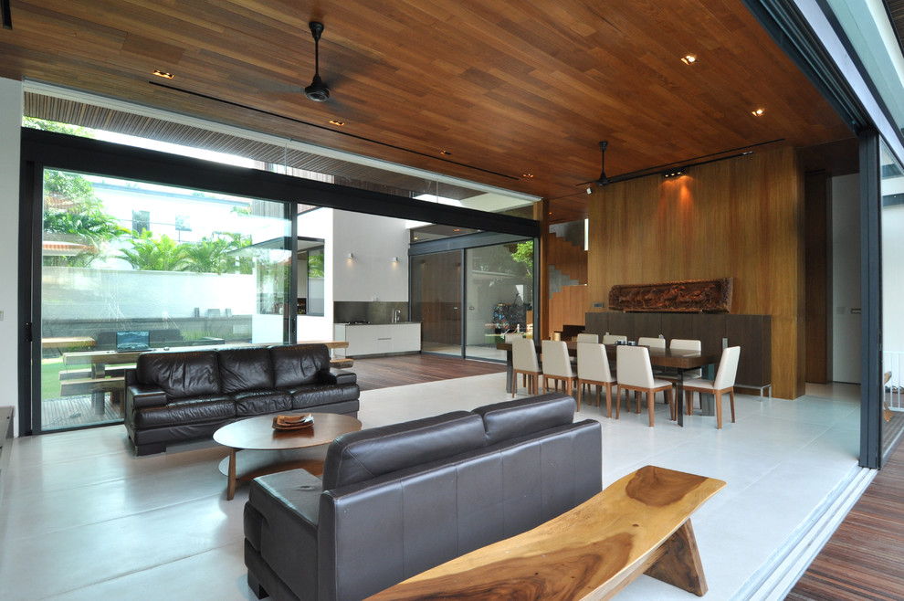 Black Loveseat Living Room Contemporary with Black Ceiling Fan Black Loveseat Black Sofa Dining Room Indoor Outdoor Living