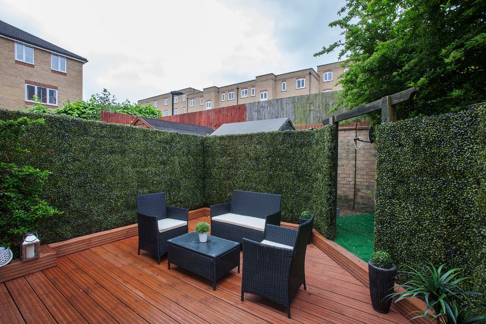 black loveseat Patio Transitional with AFTER PHOTOS OF CANARY WHARF LONDON ball topiary black loveseat black patio