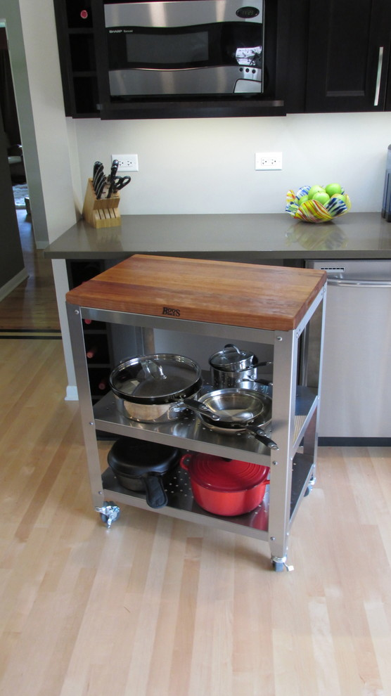 Boos Butcher Block Kitchen Contemporary with Boos Boos Butcher Block Kitchen Work Station Pot Storage Rolling Cart 2