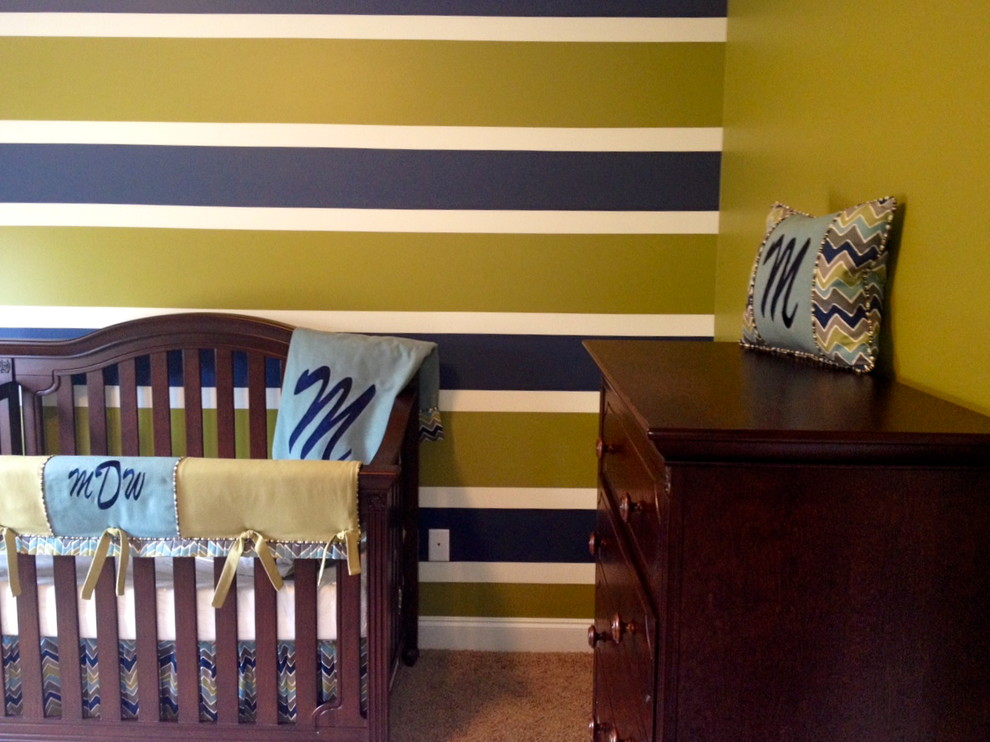 boy crib bedding Spaces Transitional with baby bedding boy nursery chevron boy crib bedding custom-made modern nursery Nursery