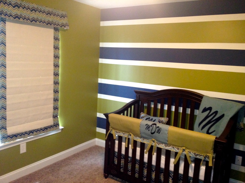 Boy Crib Bedding Spaces Transitional with Baby Bedding Boy Nursery Chevron Boy Crib Bedding Custom Made Modern Nursery Nursery1