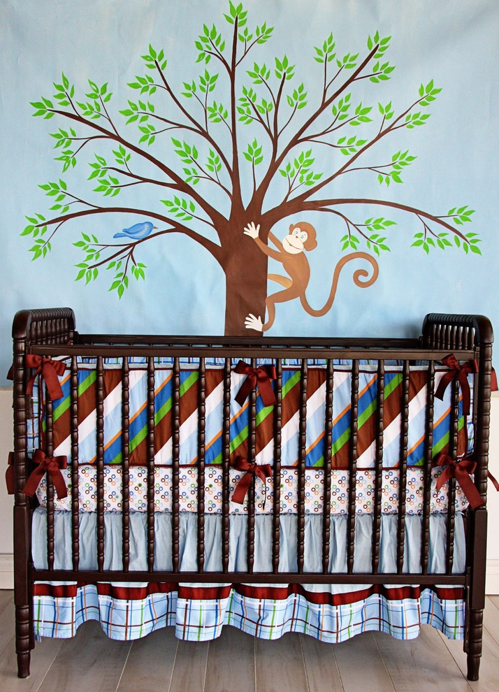 Boys Crib Bedding Kids Eclectic with Brown Blue Boys Crib Bedding Plaid Boys Crib Bedding
