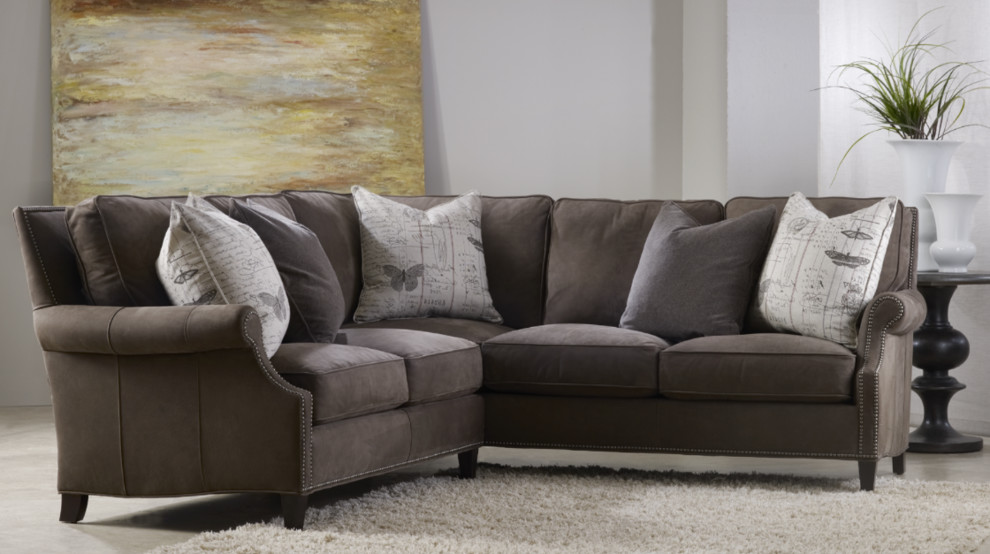 Bradington Young Living Room Transitional With Bradington Young Bradington  Young Brown Sofa Dealer Furniture Gallery Furniture