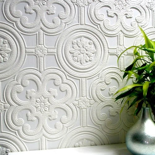 Brewster Wallpaper Spaces Contemporary with Anaglypta Wall Covering Brewster Wallpaper of Boston Bridging Decorative Wallpaper Embossed Wall