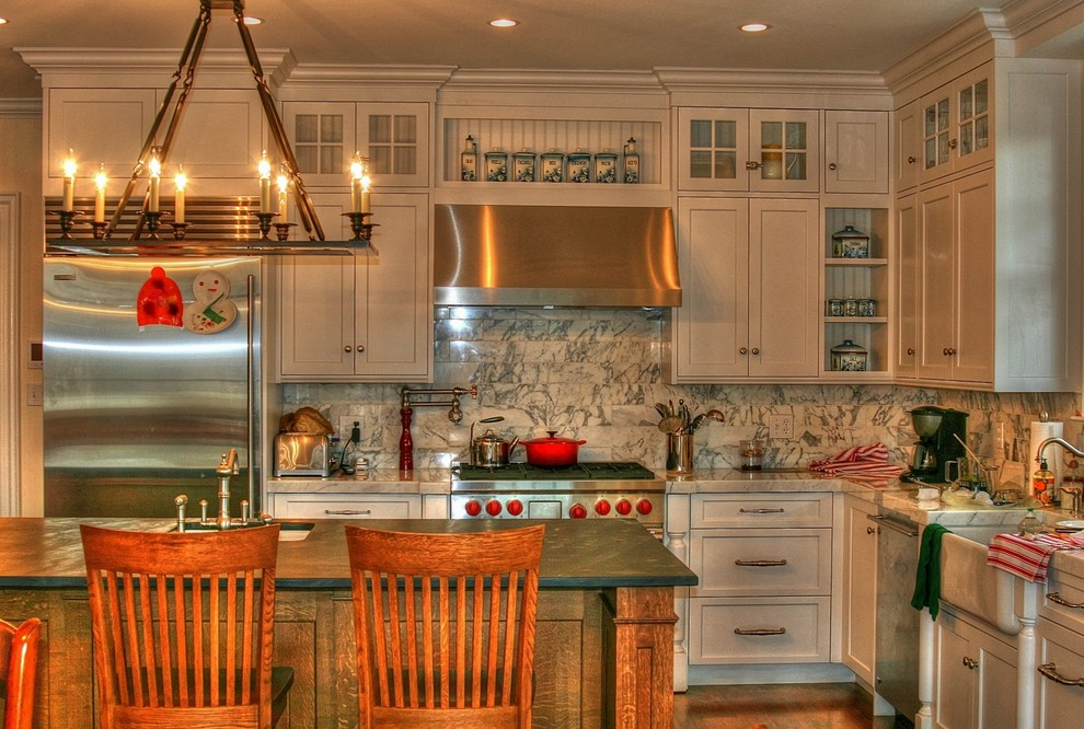 Broan Exhaust Fans Kitchen Traditional with Barstools Chandelier Christopher Peacock Inspired Cottage Cottage Barstools English Country Kitchen Kitchen