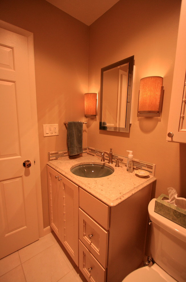 Broan Medicine Cabinets Bathroom Traditional with Accent Tile Bathroom Blue Sink Brizo Cambria Color Sink Et2 Fiji Door