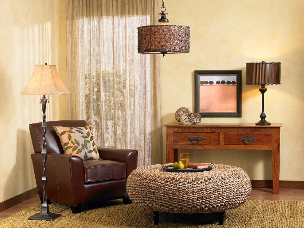 Bronze Floor Lamp Living Room Traditional with None