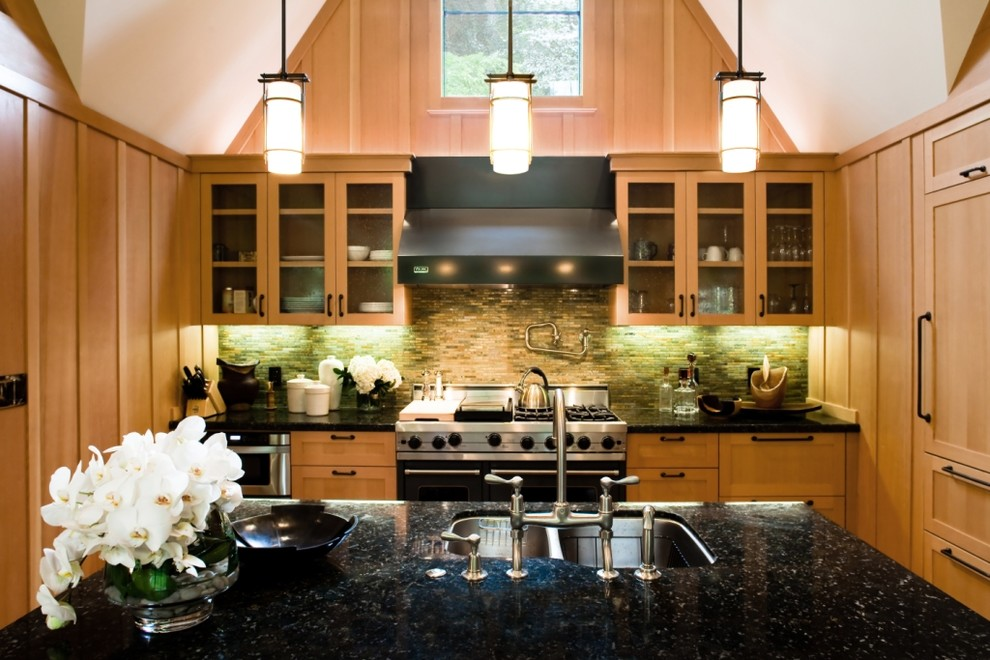 Bronze Pendant Light Kitchen Traditional With Board And Batten Cabinet  Front Refrigerator Glass Front Cabinets Kitchen