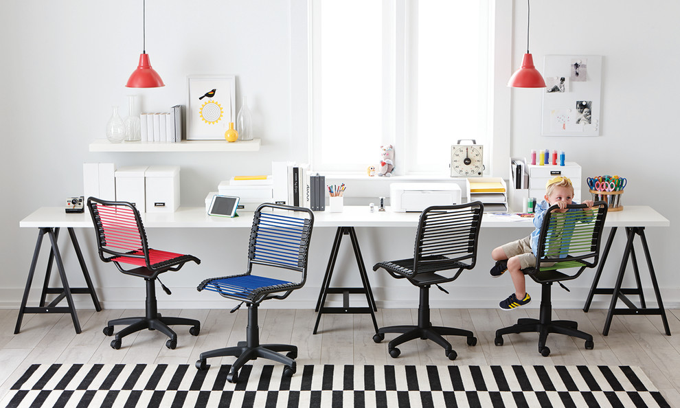 Bungee Office Chair Home Office Contemporary with Accent Chairs Chairs Desktop Organizer Home Office Office Chairs Office Decor