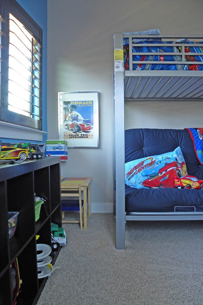 bunk bed with futon Kids Modern with bunkbeds Expedit kids toy storage