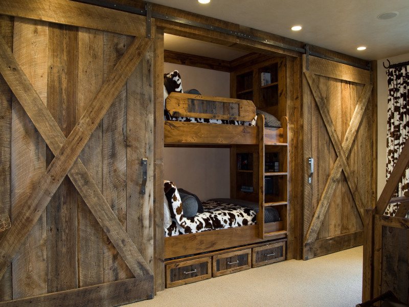 Bunk Beds with Slide Kids Rustic with Bedroom Bunk Beds Kids Bedroom Park City Utah Storage Utah Luxury Home