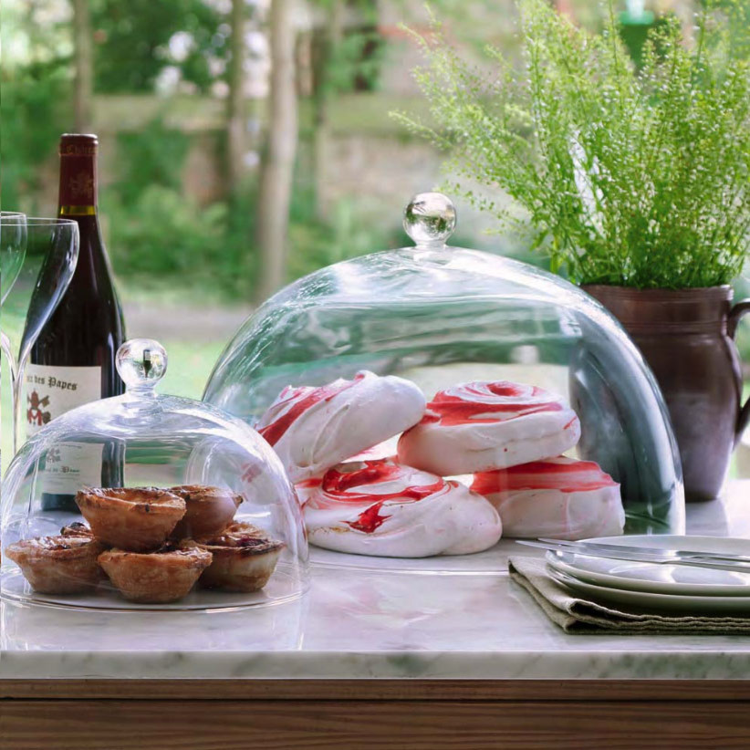 Cake Stand with Dome Spaces with None