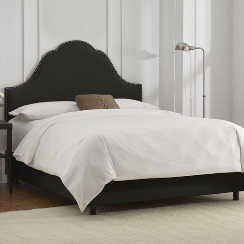 California King Headboard Bedroom Modern with None 4