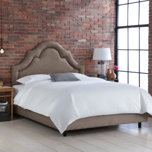 California King Headboard Bedroom Modern with None 5