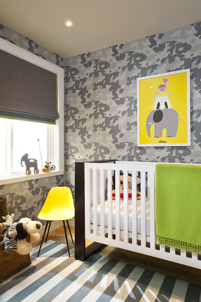 Camo Bed Set Nursery Transitional with Area Rug Baseboards Camouflage Ceiling Lighting Crib Ideas for Baby Boy Nursery
